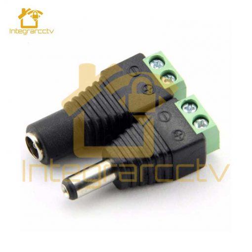 Conector-CCTV-Bornera-DC-Hembra-Macho